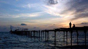Allapuzha-beach-sunset