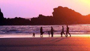 an evening-sunset in-muzhappilangad-beach