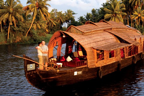 kerala backwaters- cruise image